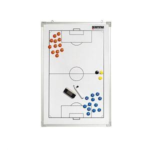 Derby star tactiek 45x30 cm